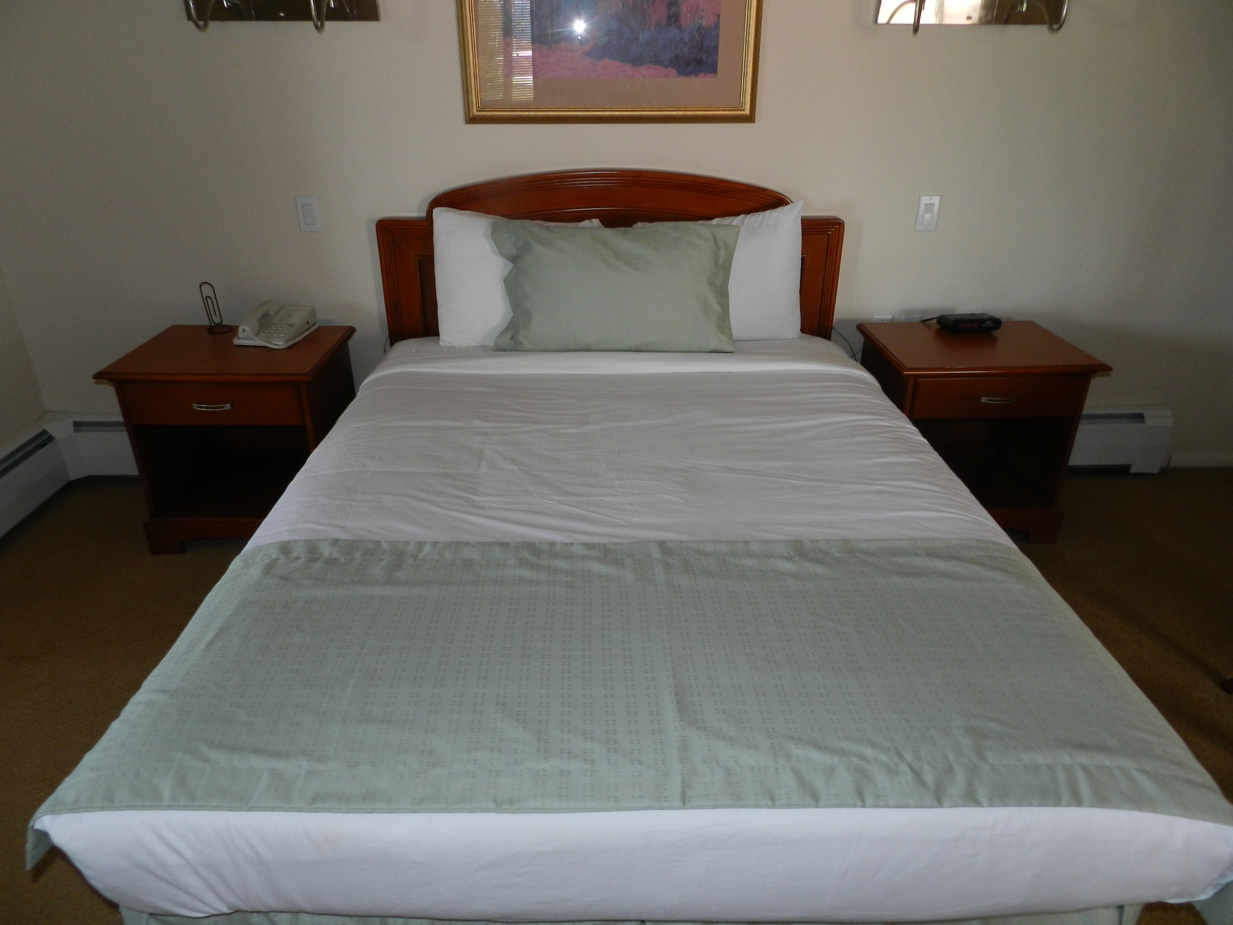 1 Queen Bed Room